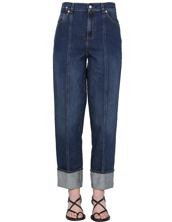 Denim Jeans - Alexander McQueen