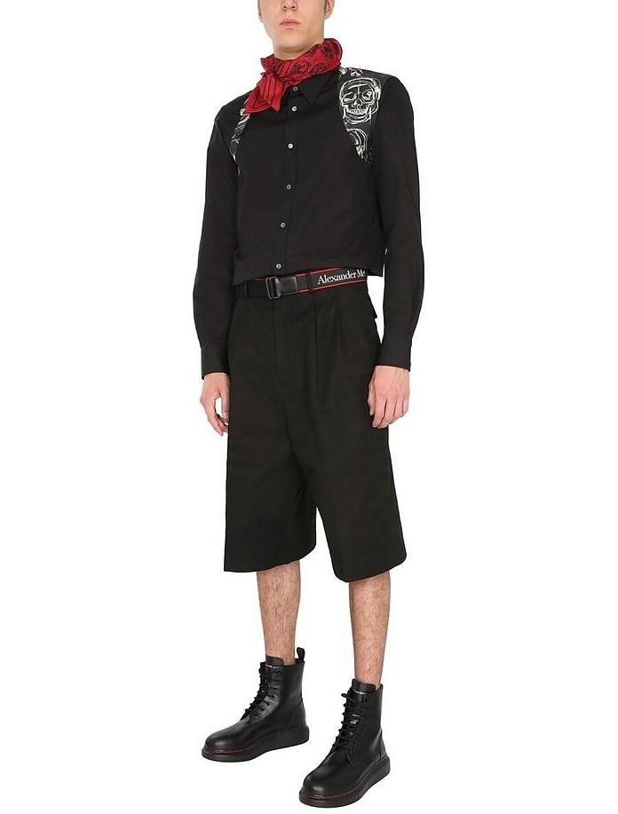 Sartorialy Baggy Shorts - Alexander McQueen