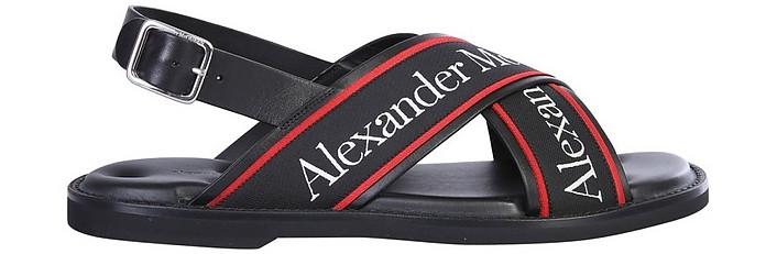 Logo Sandals - Alexander McQueen