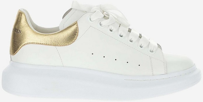 Light And Natural Low Top Sneakers - Alexander McQueen