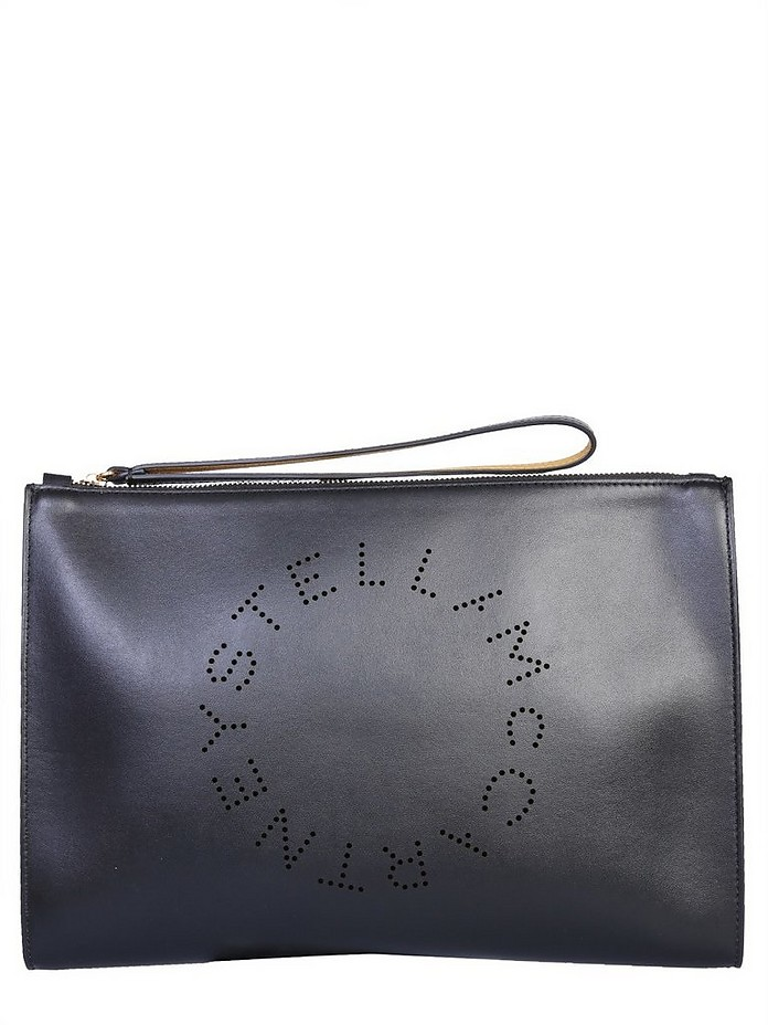 Clutch With Logo - Stella McCartney