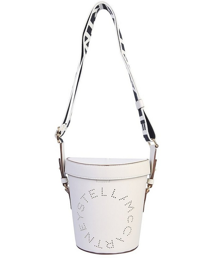 Bucket Bag With Logo - Stella McCartney