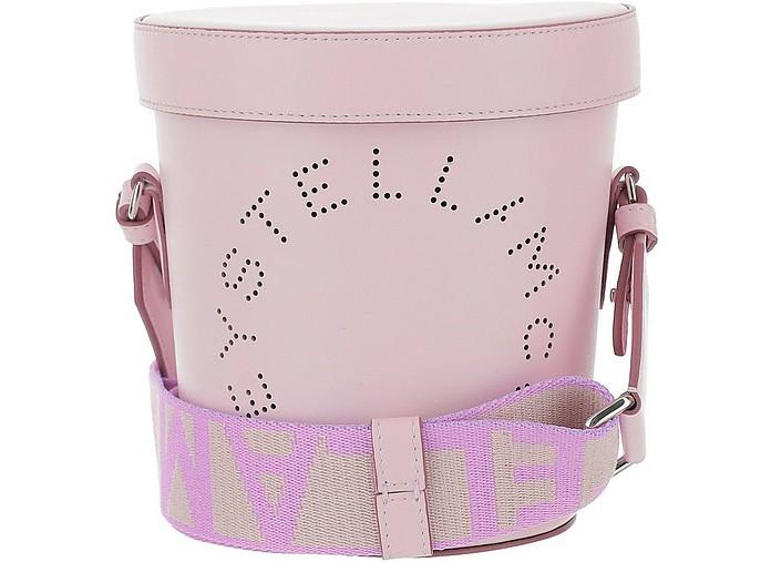 Lilac Stella Logo Bucket Bag - Stella McCartney