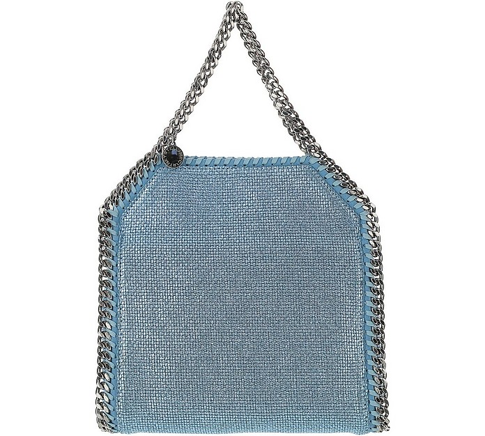 Light Blue Mini Tote Falabella Bag - Stella McCartney