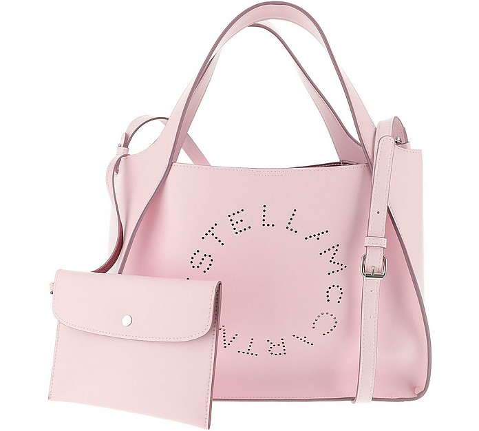 Pink Stella Logo Tote Bag - Stella McCartney