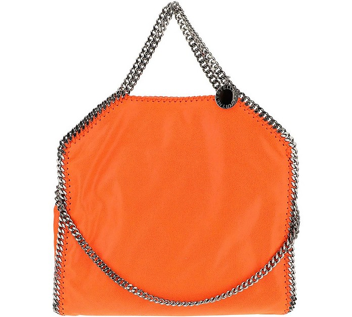 Mandarin Falabella Eco-Shaggy Deer Shoulder Bag - Stella McCartney