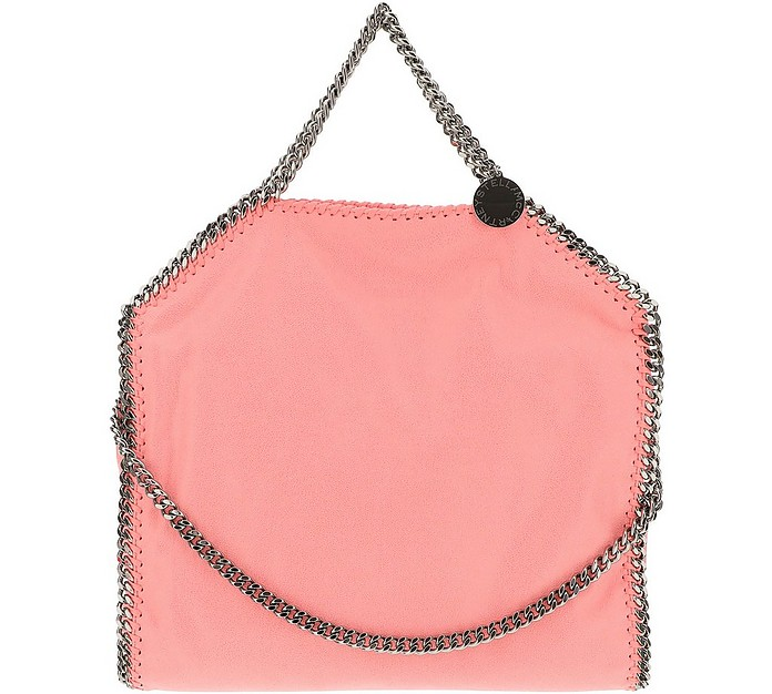 Pink Falabella Eco-Shaggy Deer Shoulder Bag - Stella McCartney