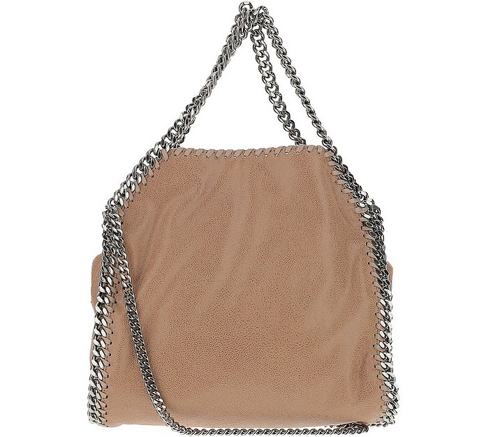 Falabella Natural Eco-Shaggy Deer Shoulder Bag - Stella McCartney
