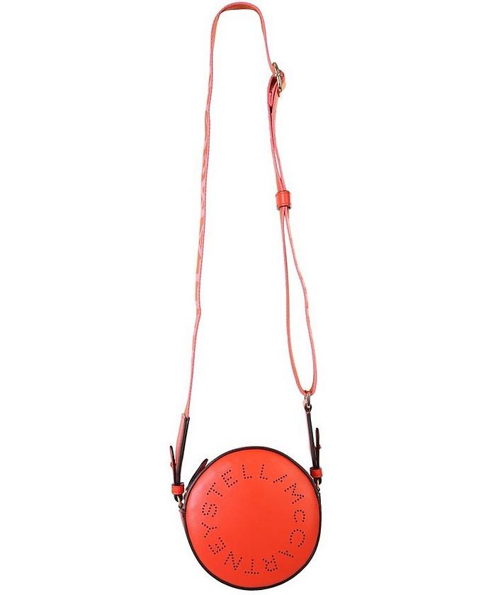 Red Stella Logo Mini Crossbody Bag  - Stella McCartney