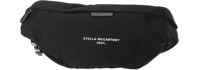 Black Fabric Belt Bag - Stella McCartney