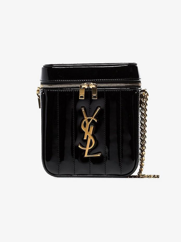 Saint Laurent Accessories Vicky zip-around bag