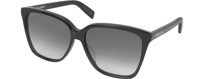 c4161fc86b5 SL 175 Large Square-Frame Acetate Women s Sunglasses - Saint Laurent.  €195