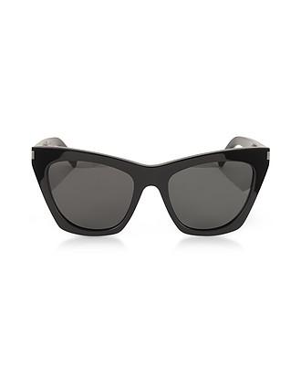 a055889b0ea New Wave 214 KATE Acetate Sunglasses - Saint Laurent