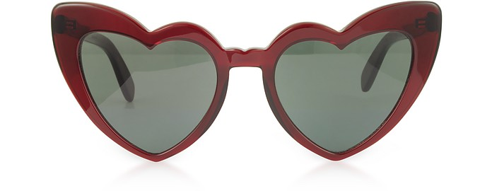 SL 181 Louluo Heart Acetate Women's Sunglasses - Yves Saint Laurent