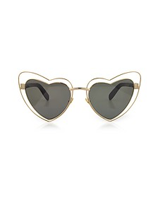SL 197 Louluo Heart Metal Women's Sunglasses - Saint Laurent
