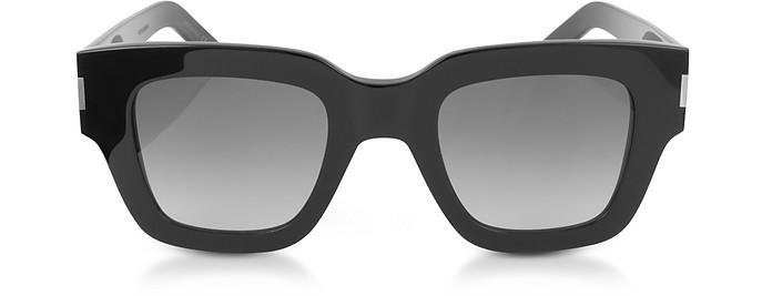 SL 184 SLIM Squared Acetate Sunglasses - Saint Laurent