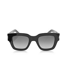 SL 184 SLIM Squared Acetate Sunglasses - Yves Saint Laurent 伊夫圣罗兰