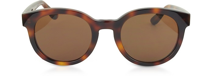 SL M15  Round Frame Acetate Sunglasses - Saint Laurent