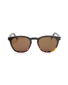SL 28 Two-Tone Acetate Frame Sunglasses - Saint Laurent