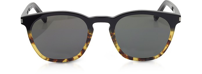 SL 28 TWO-TONE ACETATE FRAME SUNGLASSES