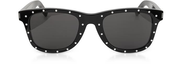 SL 51-029 Black Studded Acetate Women's Sunglasses - Saint Laurent