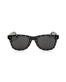 SL 51-029 Black Studded Acetate Women's Sunglasses - Saint Laurent