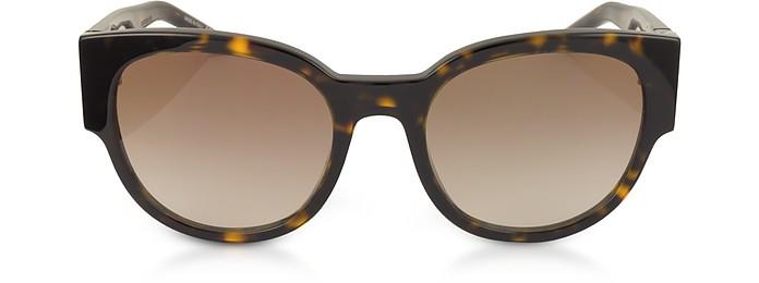 SL M19 Acetate Oval Frame Women's Sunglasses - Saint Laurent