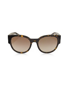 SL M19 Acetate Oval Frame Women's Sunglasses - Saint Laurent