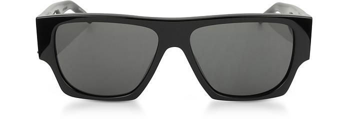 SL M17 Rectangle Frame Acetate Men's Sunglasses - Saint Laurent