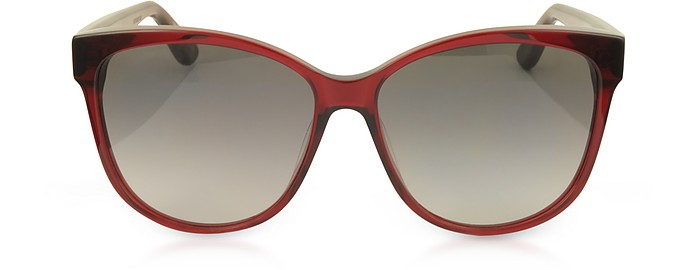 SL M23/K Oval Frame Women's Sunglasses - Saint Laurent