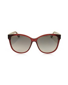 SL M23/K Oval Frame Women's Sunglasses - Yves Saint Laurent 伊夫圣罗兰