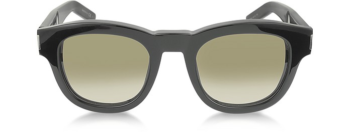 BOLD 2 807HA Black Acetate Women's Sunglasses - Saint Laurent