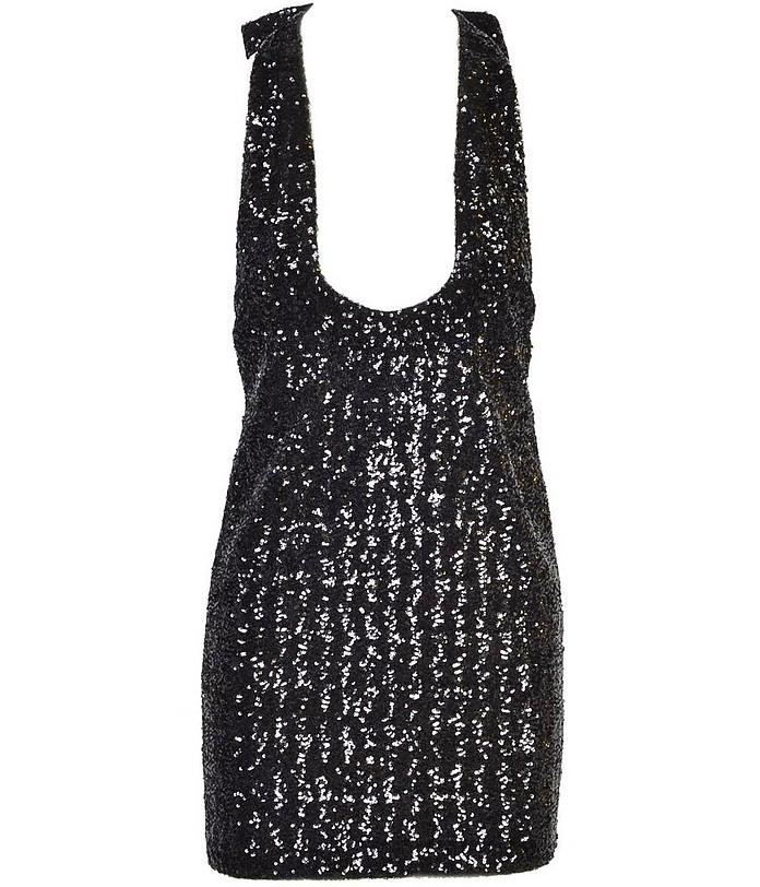 Women's Black Dress - Saint Laurent