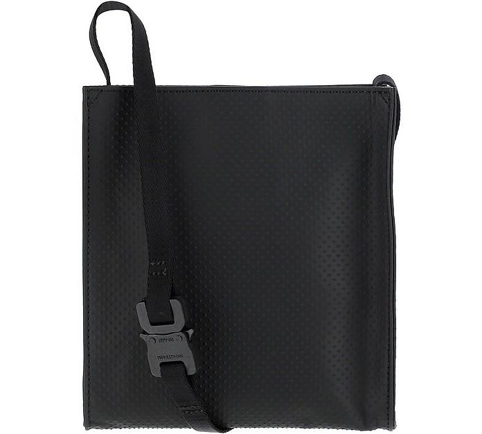 Black Leather Messanger Bag - 1017 ALYX 9SM