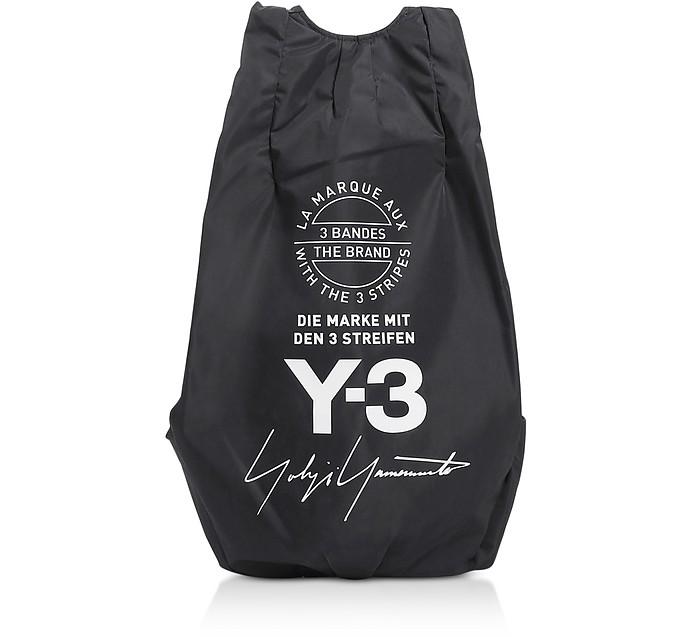 Black Y-3 Yohji Backpack - Y-3