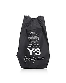 Black Y-3 Yohji Backpack - Y-3