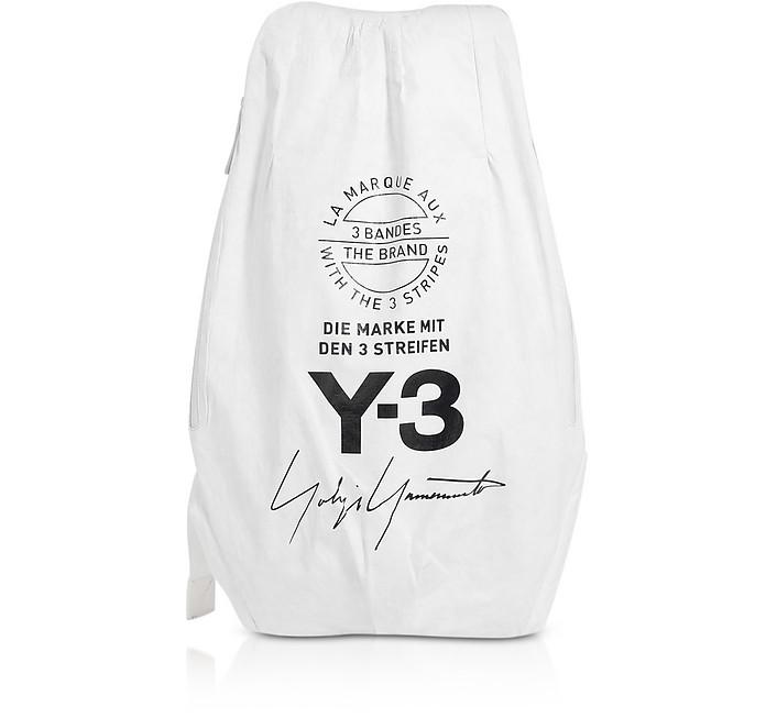 Core White Y-3 Yohji Backpack - Y-3