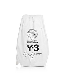 Core White Y-3 Yohji Backpack - Y-3
