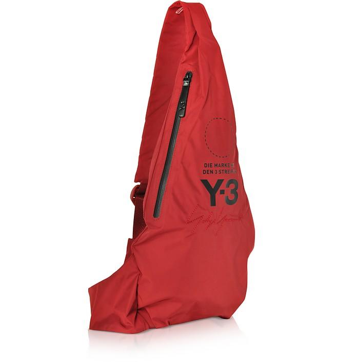 красная сумка через плечо 6