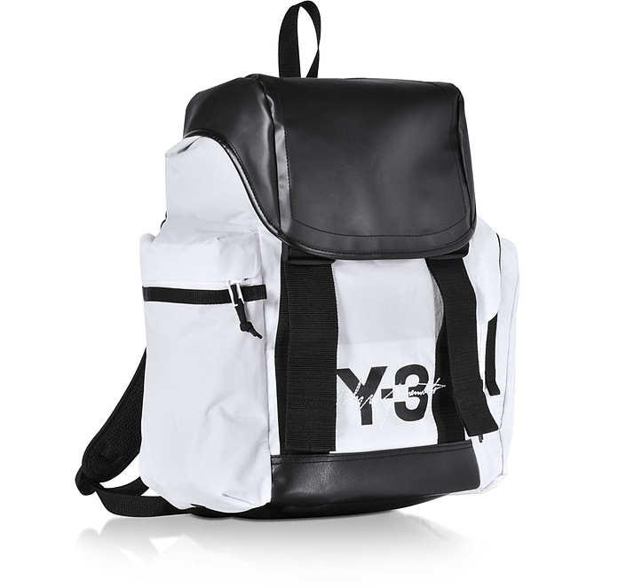 ad772dba15e9 Y-3 Mobility Color-Block Backpack at FORZIERI