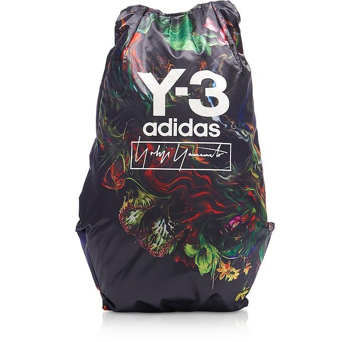 黑色Y-3 Yohji AOP背包 - Y-3
