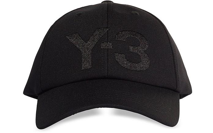 Black Y-3 Logo Cap - Y-3