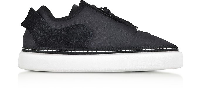 Comfort Zip Stretch Mesh and Suede Women's Sneakers - Y-3