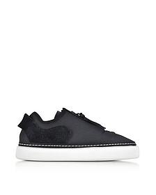 Comfort Zip Stretch Mesh and Suede Women's Sneakers - Y-3