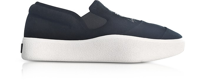 Black and White Y-3 Tangutsu Slip-on Sneakers - Y-3