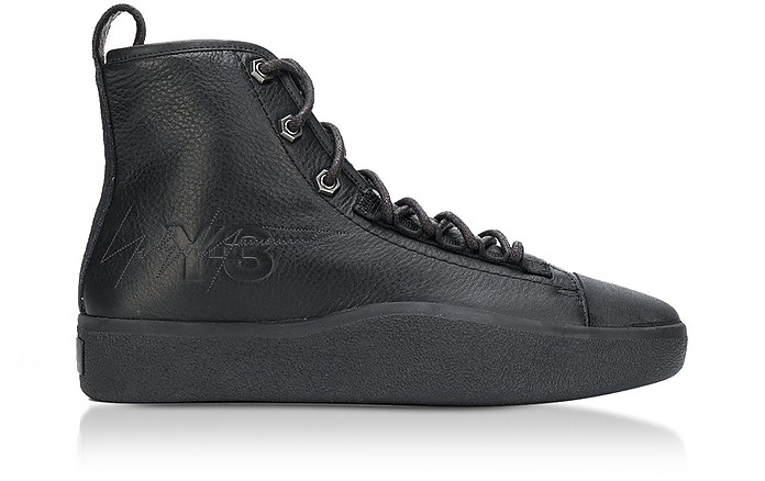Bashyo II High Top Black Men's Sneakers - Y-3