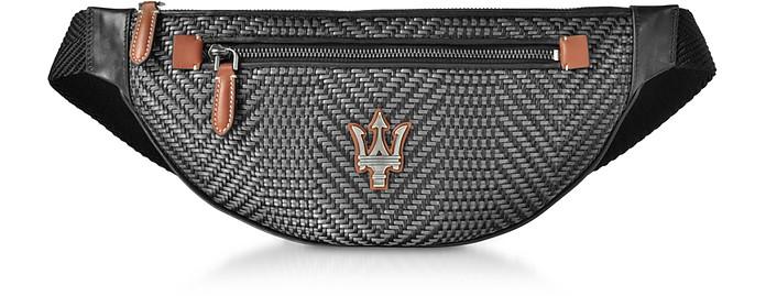 Maserati Pelle Tessuta Belt Bag - Ermenegildo Zegna