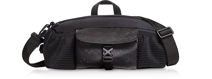 Zegna Couture Black Crossbody Bag - Ermenegildo Zegna 杰尼亚