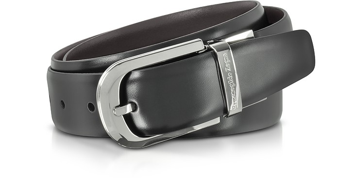 Cintura da Uomo Reversibile in Pelle Ermenegildo Zegna x9Ek0Nyj