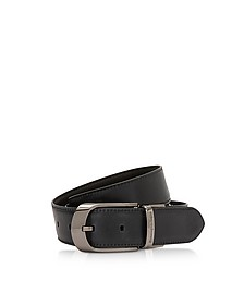 Blue Cow Leather Men's Belt